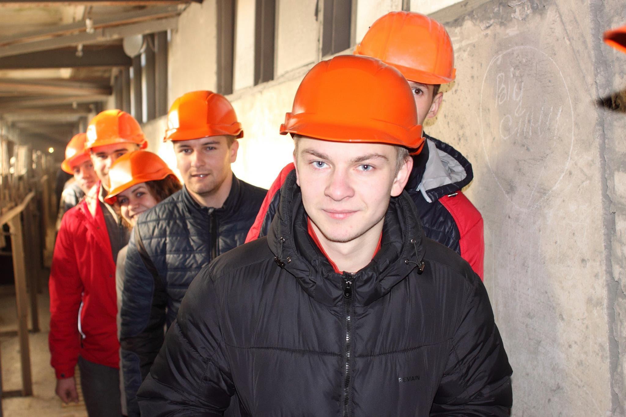 Студенти кафедри будівельної механіки група МБ-31