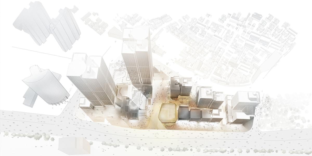 Візуалізація фінансового центру Бунд