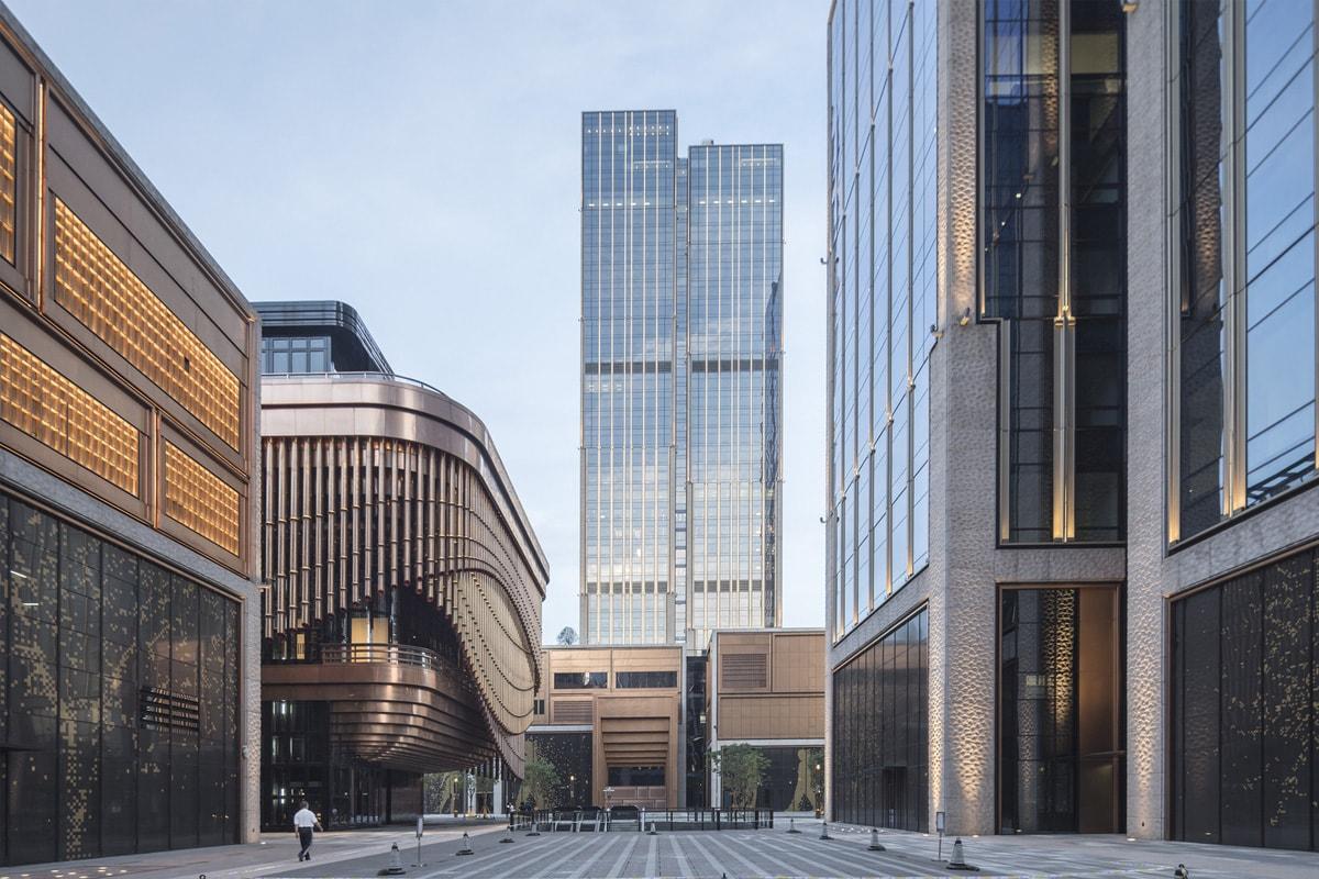 Фінансовий центр Бунд та його вежі