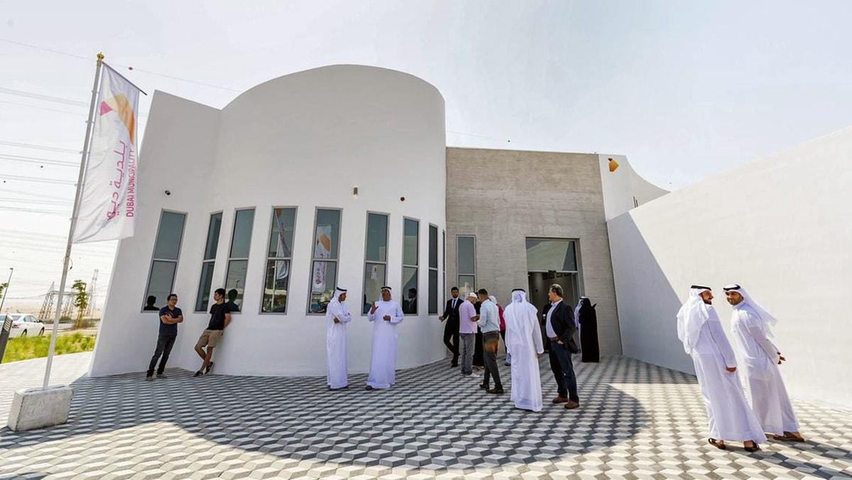 Найбільшу в світі 3D-будівля у місті Дубай