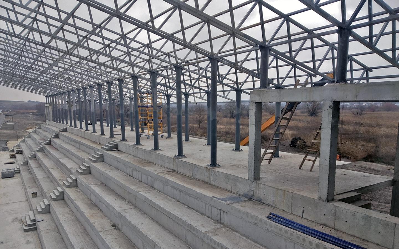 Водна арена Тернопіль завершення першого етапу будівництва