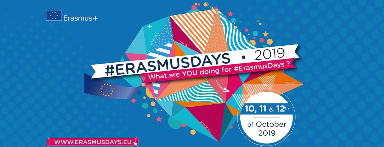 Презентація Програми Erasmus+ в рамках флешмобу #ErasmusDays