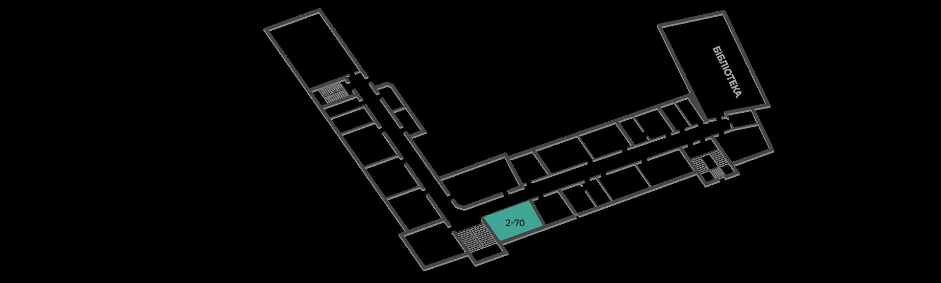розміщення аудиторій кафедри будівельної механіки  корпус тнту №2, третій поверх