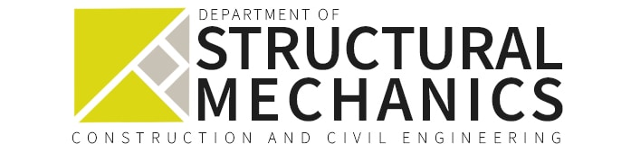 logo department of structural mechanics construction and civil engineering